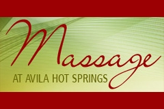 Massage at Avila Hot Springs